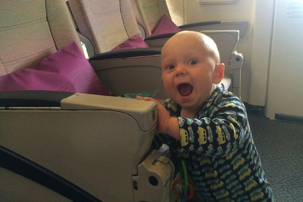Babys und Kleinkinder unter 2 Jahren haben keinen Sitzplatzanspruch