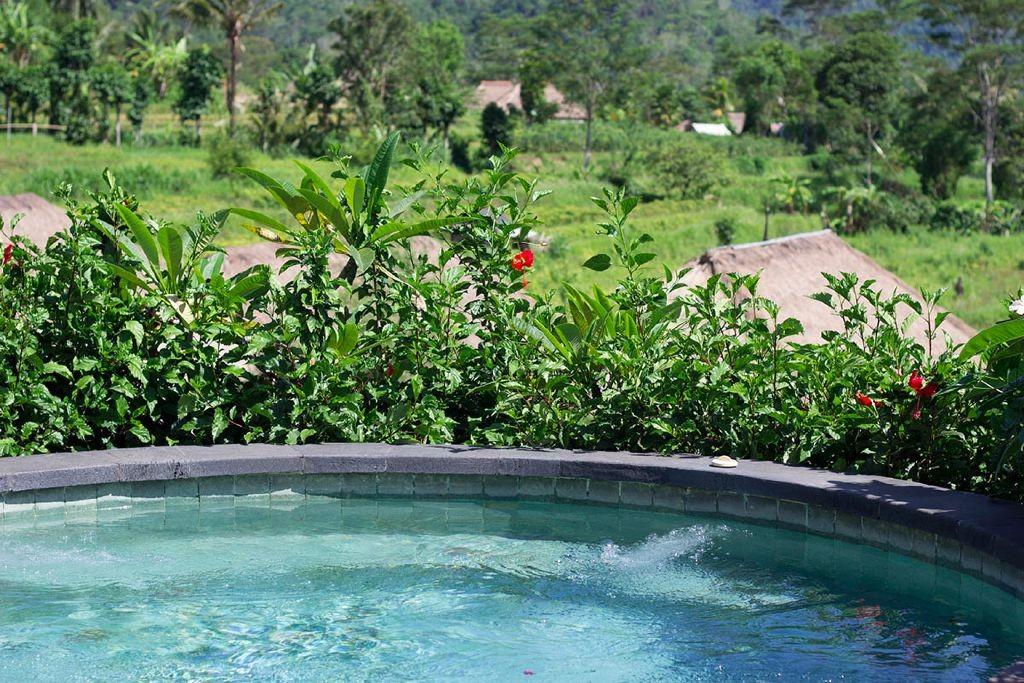 Ausblick vom kleinen Whirlpool