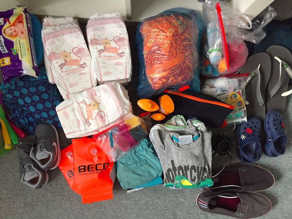 Packliste Asien – Backpacking mit Kind 1