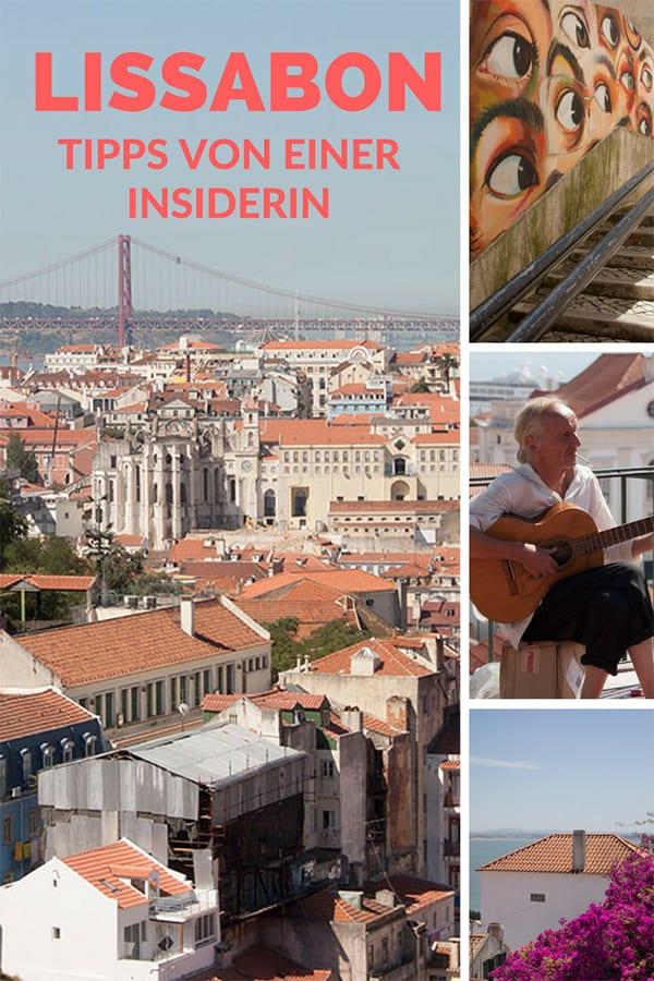 Lissabon Tipps von einer Insiderin – Pin für Pinterest