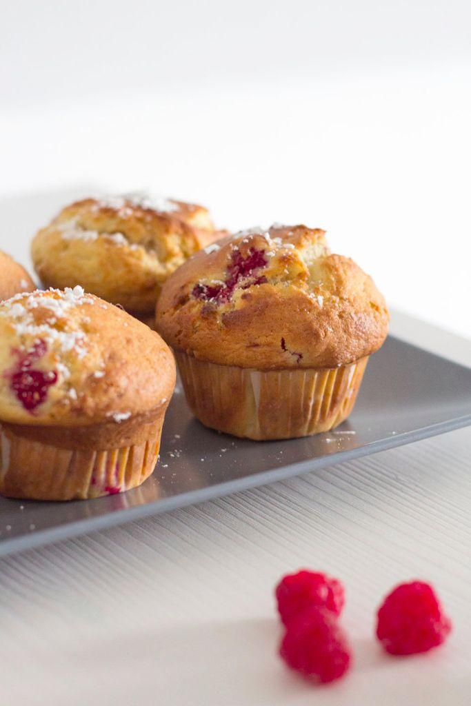 Rezept Himbeer-Frischkaese-Muffins