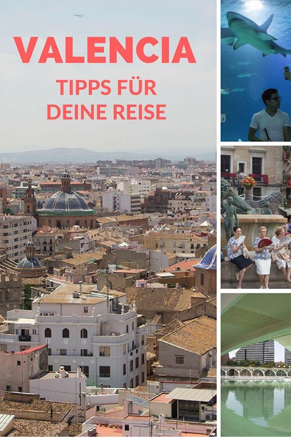 Valencia Sehenswürdigkeiten – Pin für Pinterest