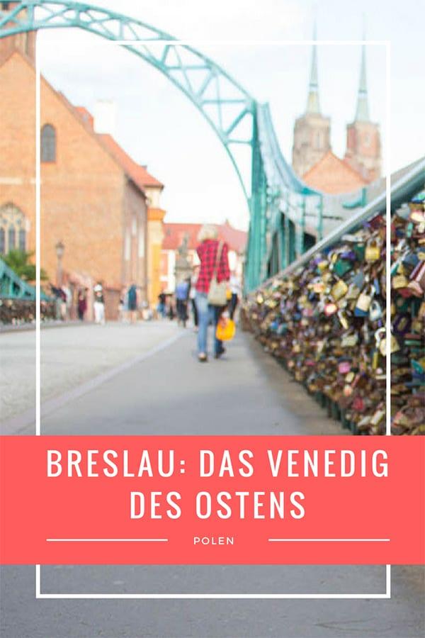 Polen Breslau das Venedig des Ostens – Pin für Pinterest