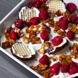 Schokokuss-Dessert