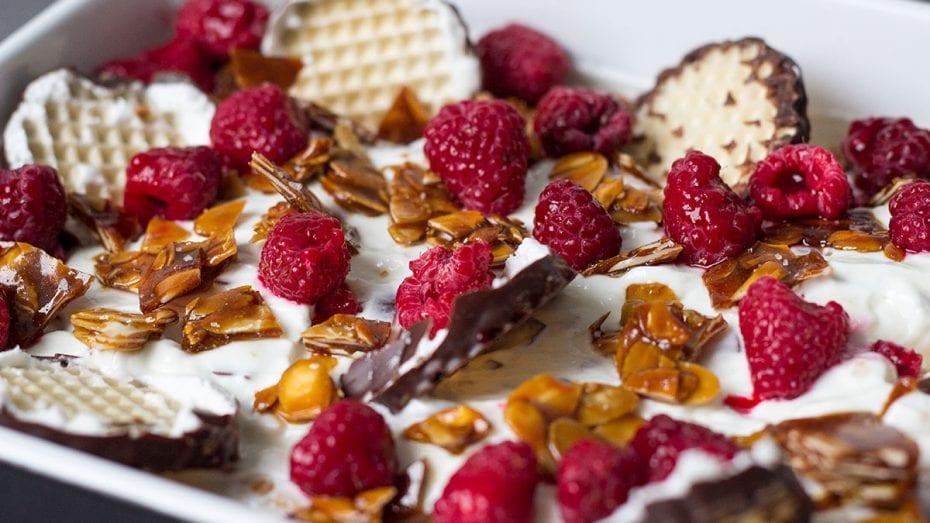 Schokokuss-Dessert blitzschnell gemacht