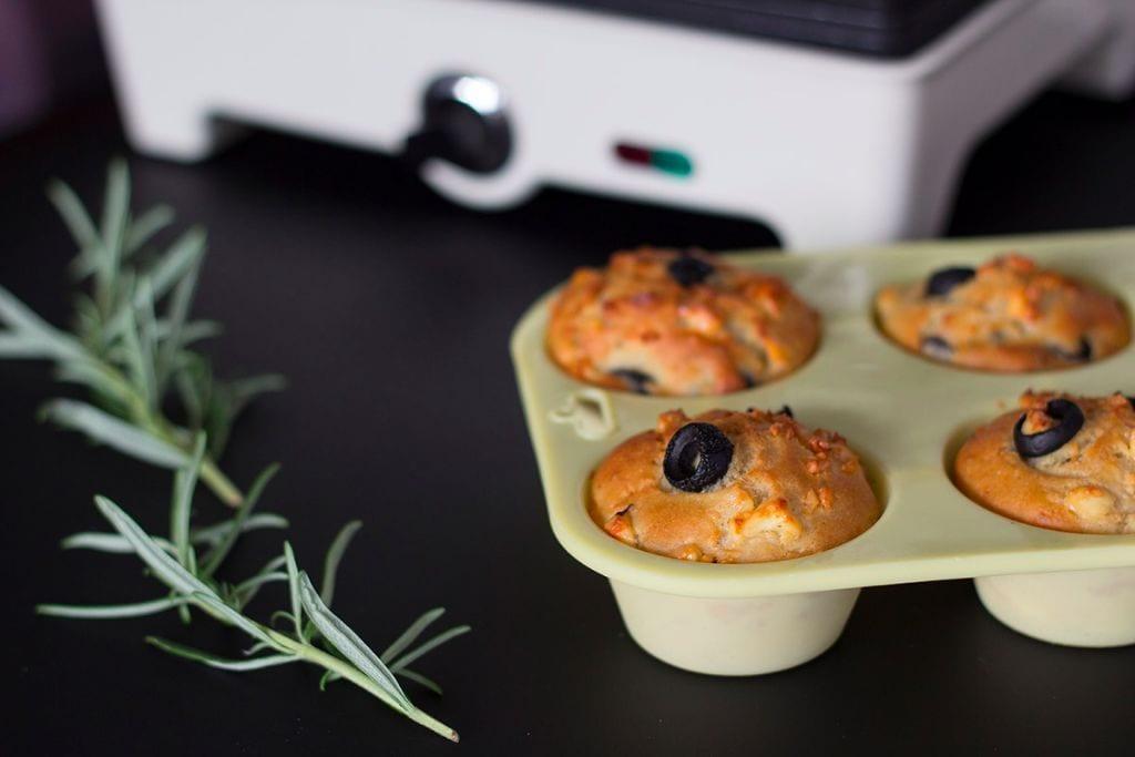 Herzhafte Muffins vegetarisch