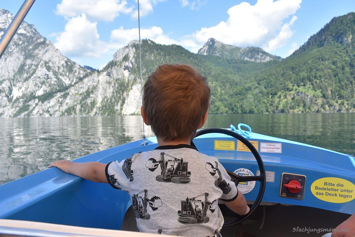 Oberösterreich mit Kindern Ausflufsziele Traunseen