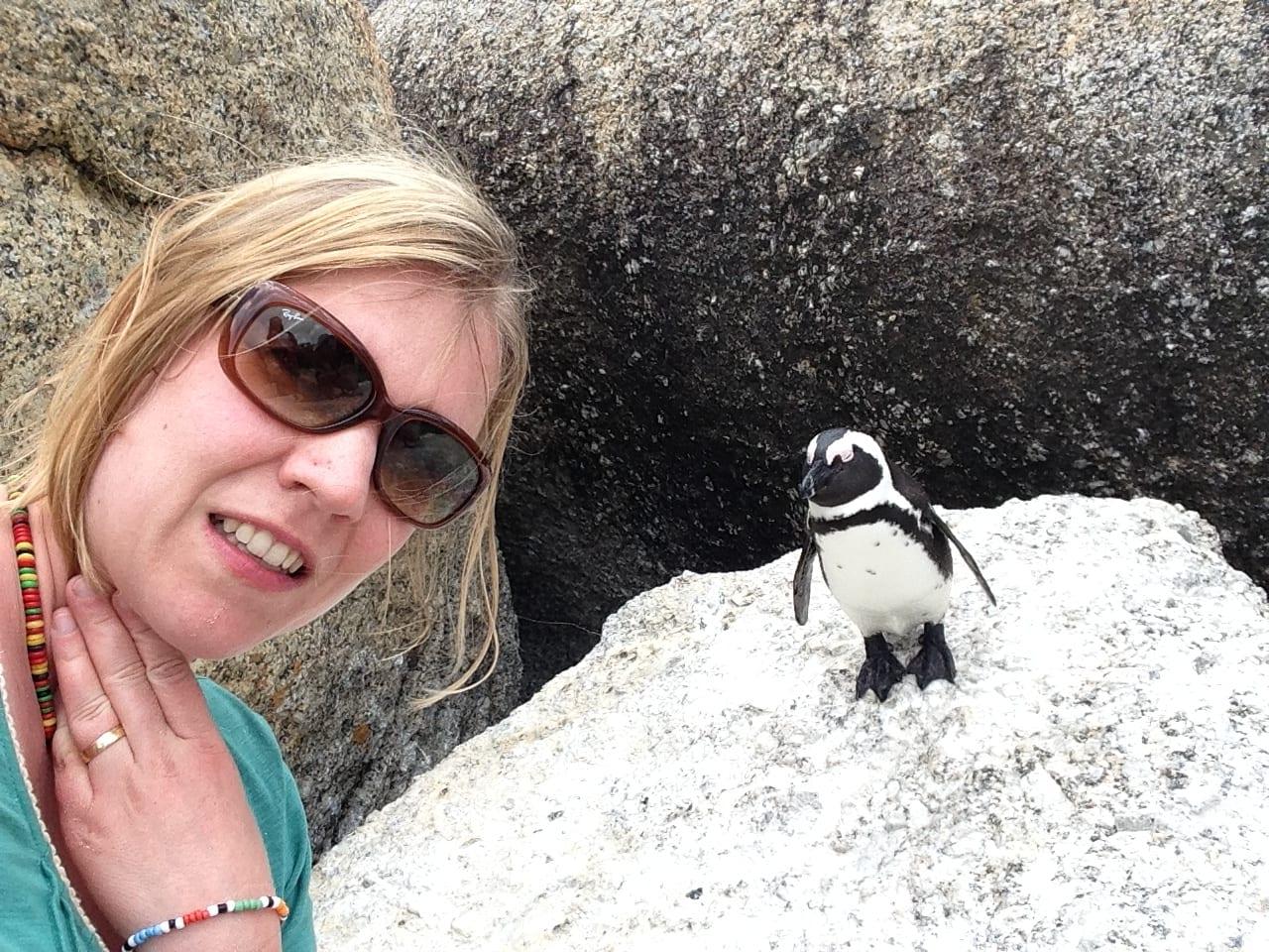 Südafrika mit Kindern bei den Pinguinen