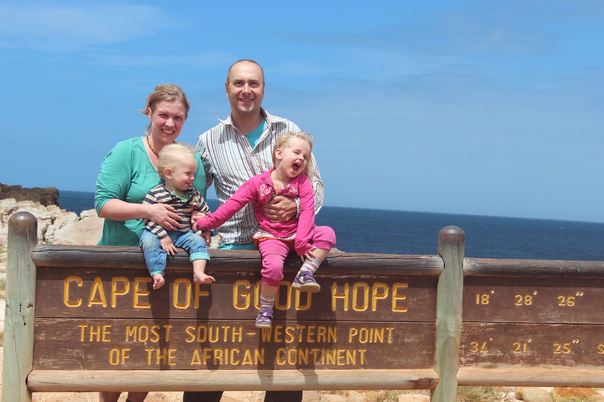 Südafrika mit Kleinkindern