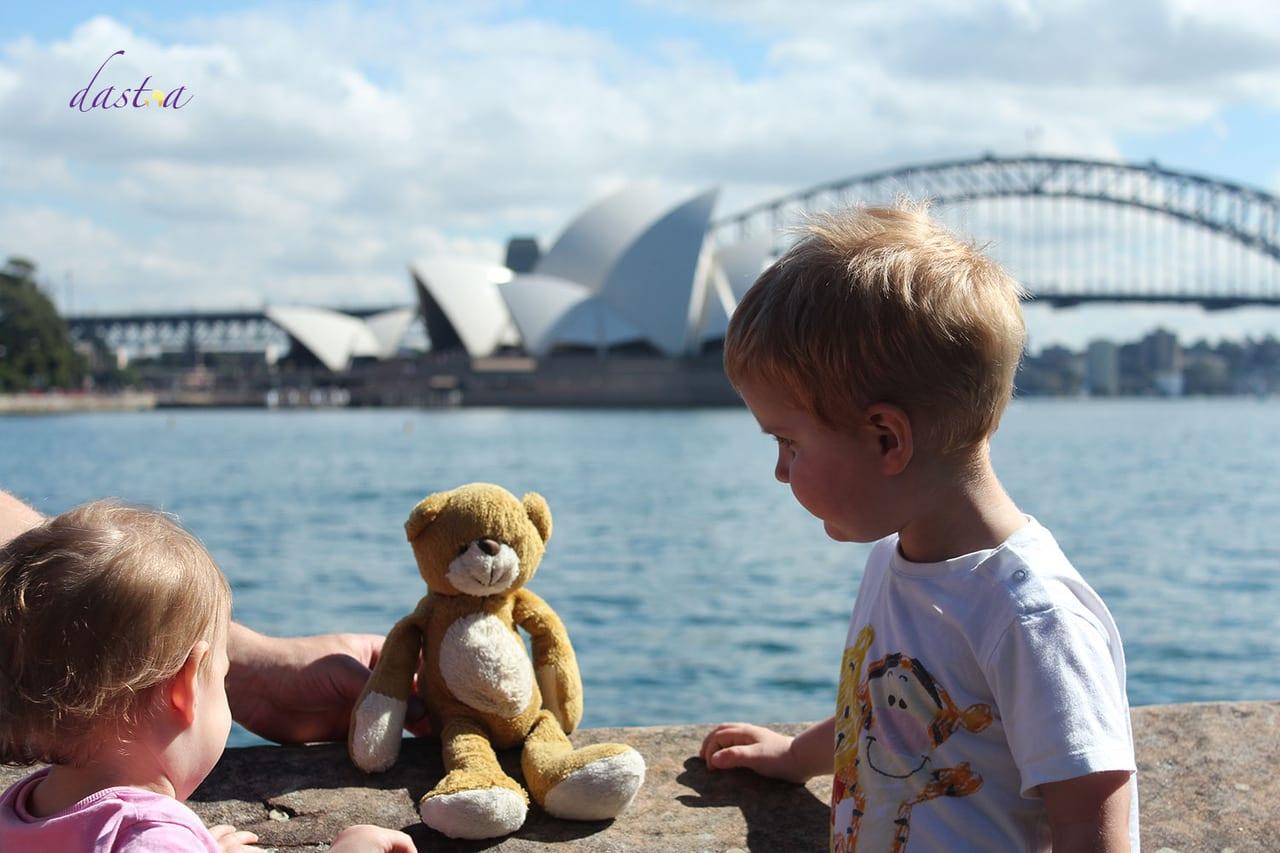 Australien mit Kindern in Sydney