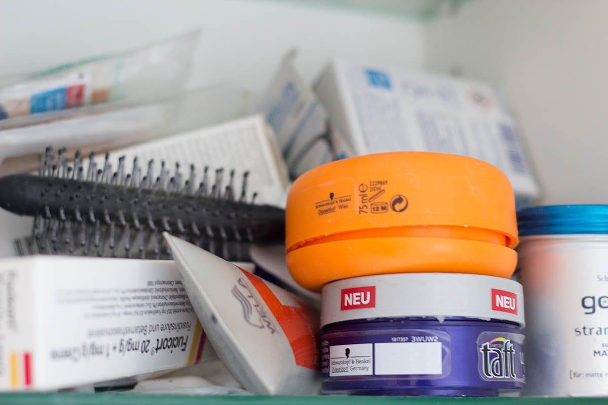 Ausmisten Challenge – fange mit dem Badezimmer ausmisten an