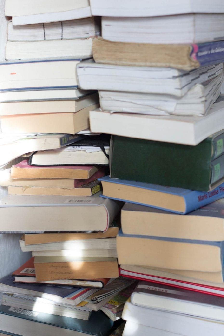 Ausmisten Challenge – Bücher ausmisten