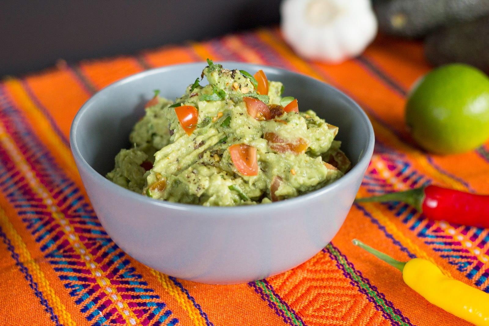 Mexikanische Küche – Guacamole selber machen Rezept