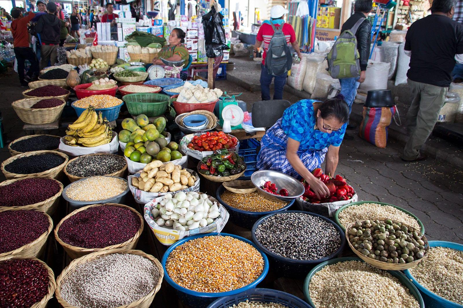 Mecikanische Küche und ihre Besonderheiten – auf einem mexikanischen Markt