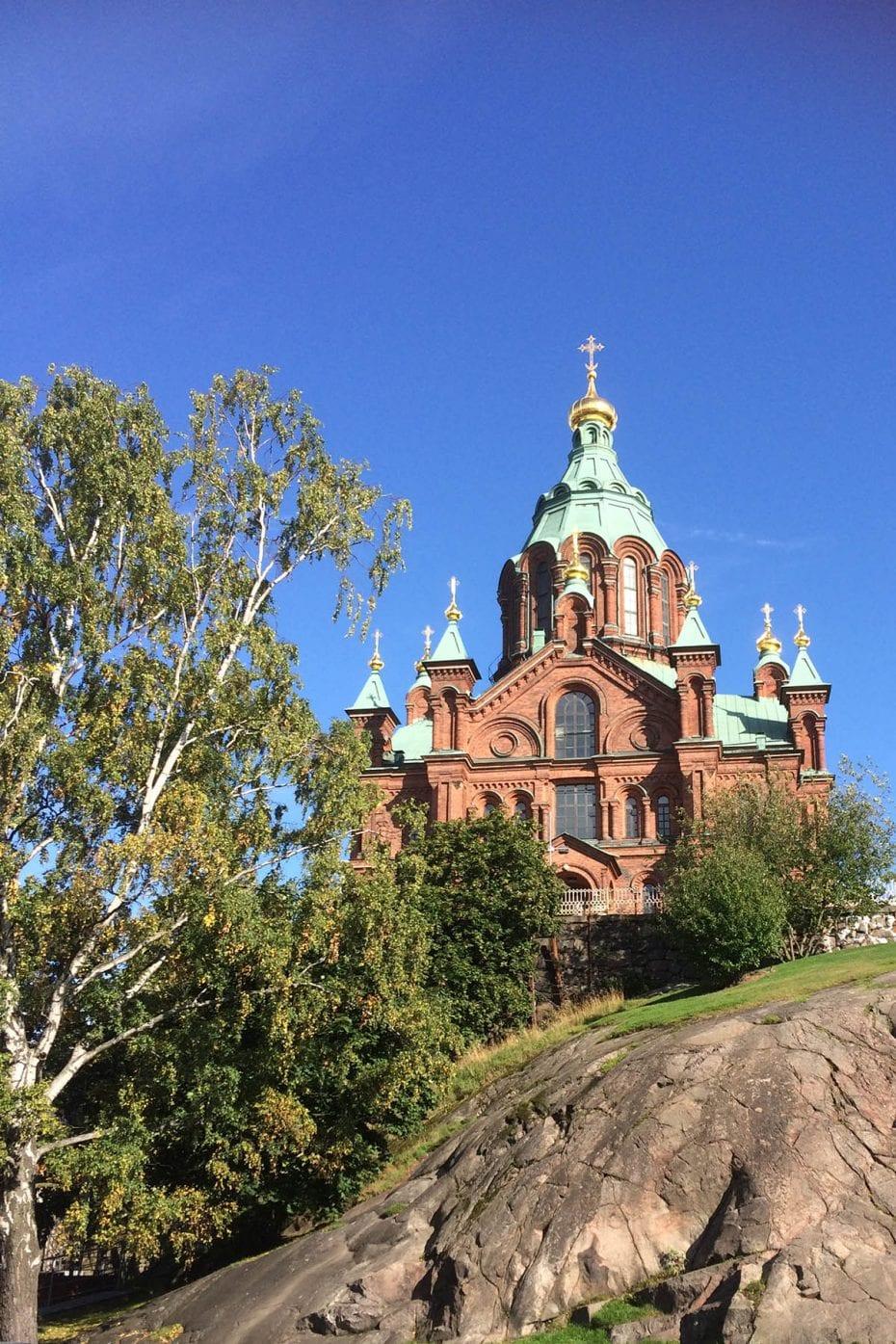 Städtereise Helsinki an einem Tag – die Uspenski-Kathedrale ist ein absolutes Highlight