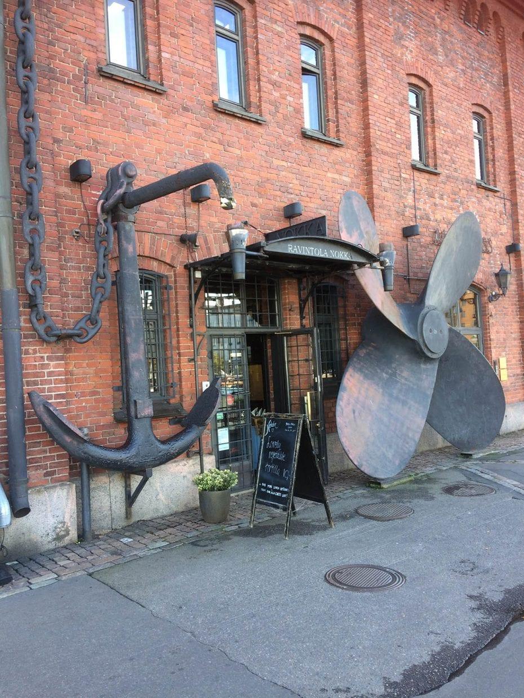 Städtereise Helsinki an einem Tag – Restaurant / Cafe Nokka