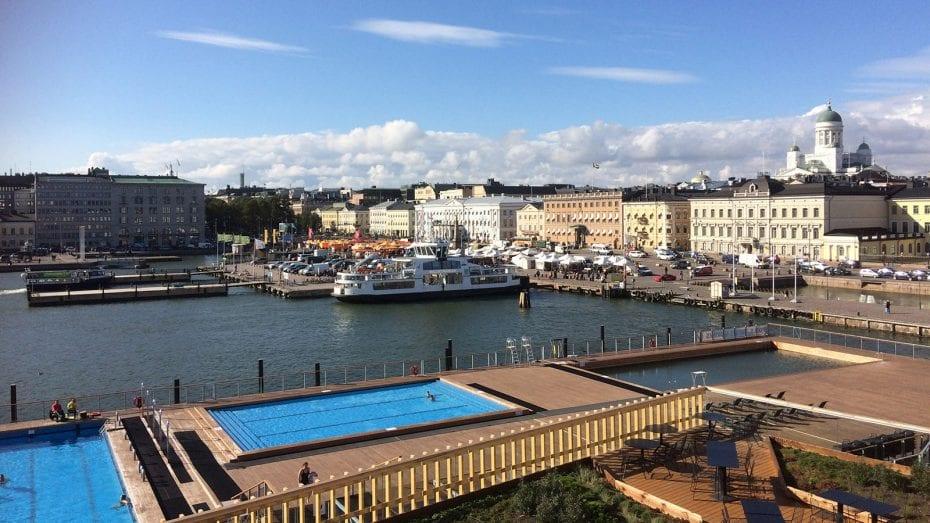 Städtereise Helsinki an einem Tag – der Blick über die Stadt und Hafen