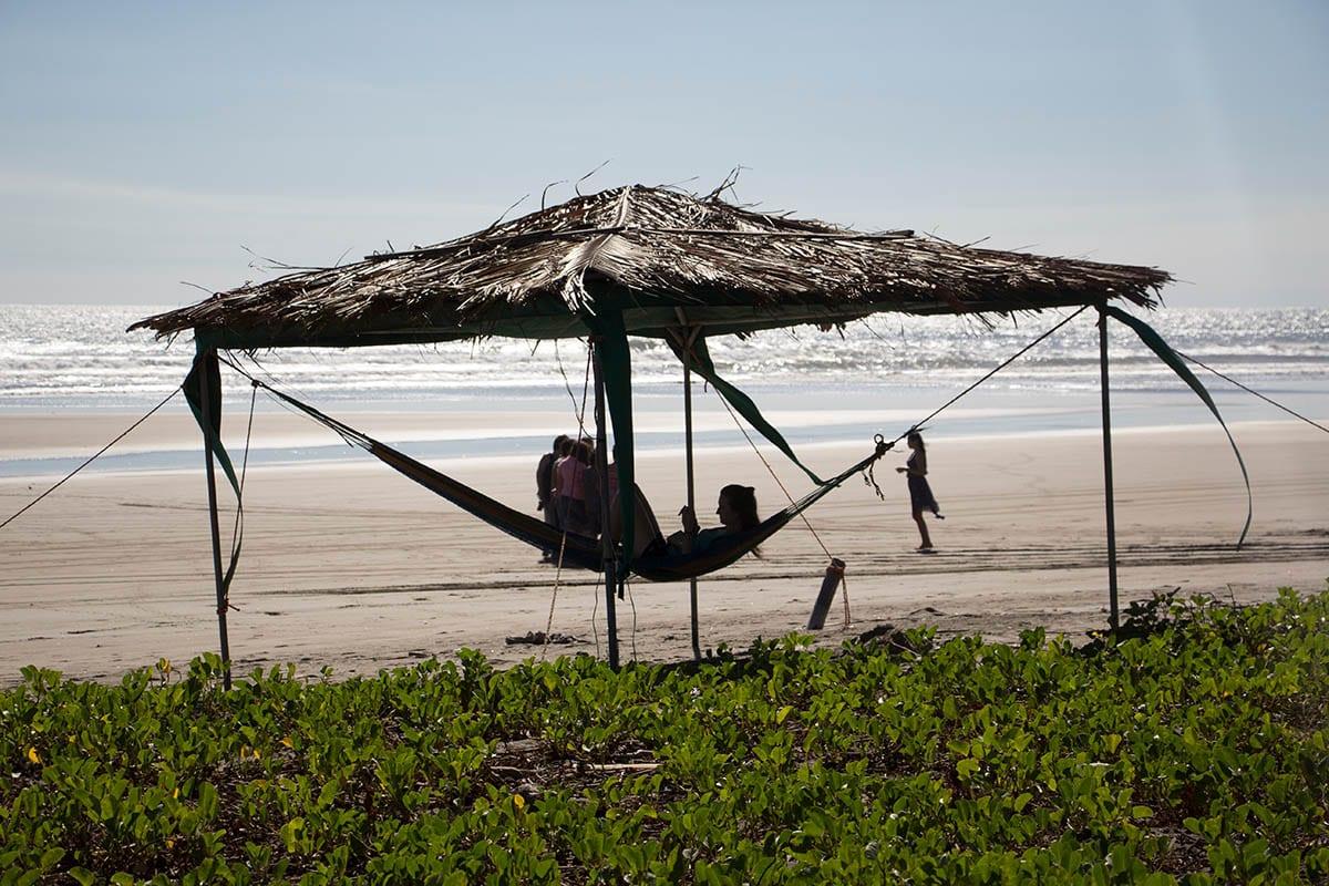 El Salvador Sehenswürdigkeiten & Highlights – im La Tortuga Verde an der Playa Esteron
