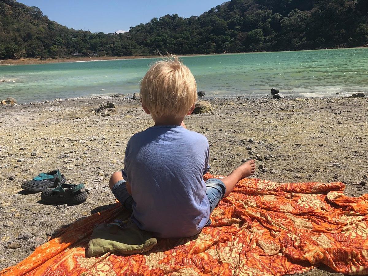 El Salvador Sehenswürdigkeiten & Highlights – an der Laguna de Alegría