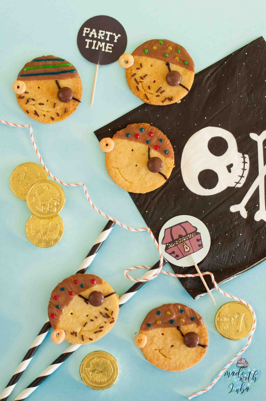 Rezept Piratenkekse für den Piraten Kindergeburtstag