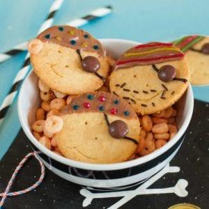 Rezept Piretenkekse – für den Piraten Kindergeburtsatg