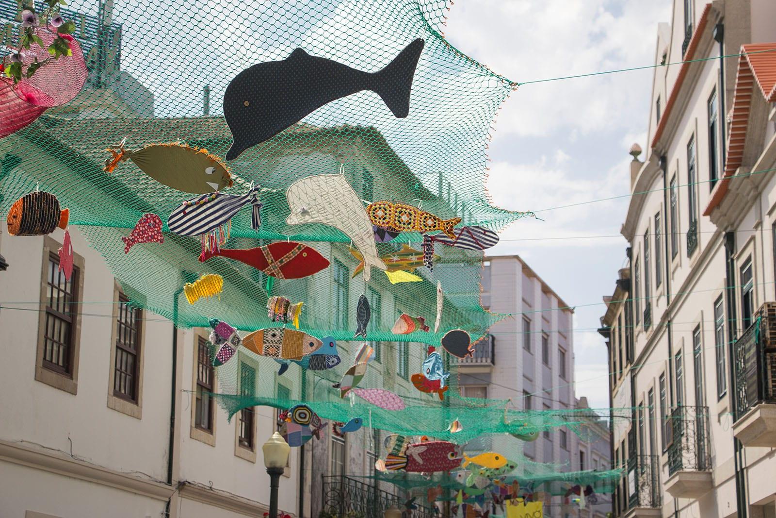 Portugal Aveiro Altstadt