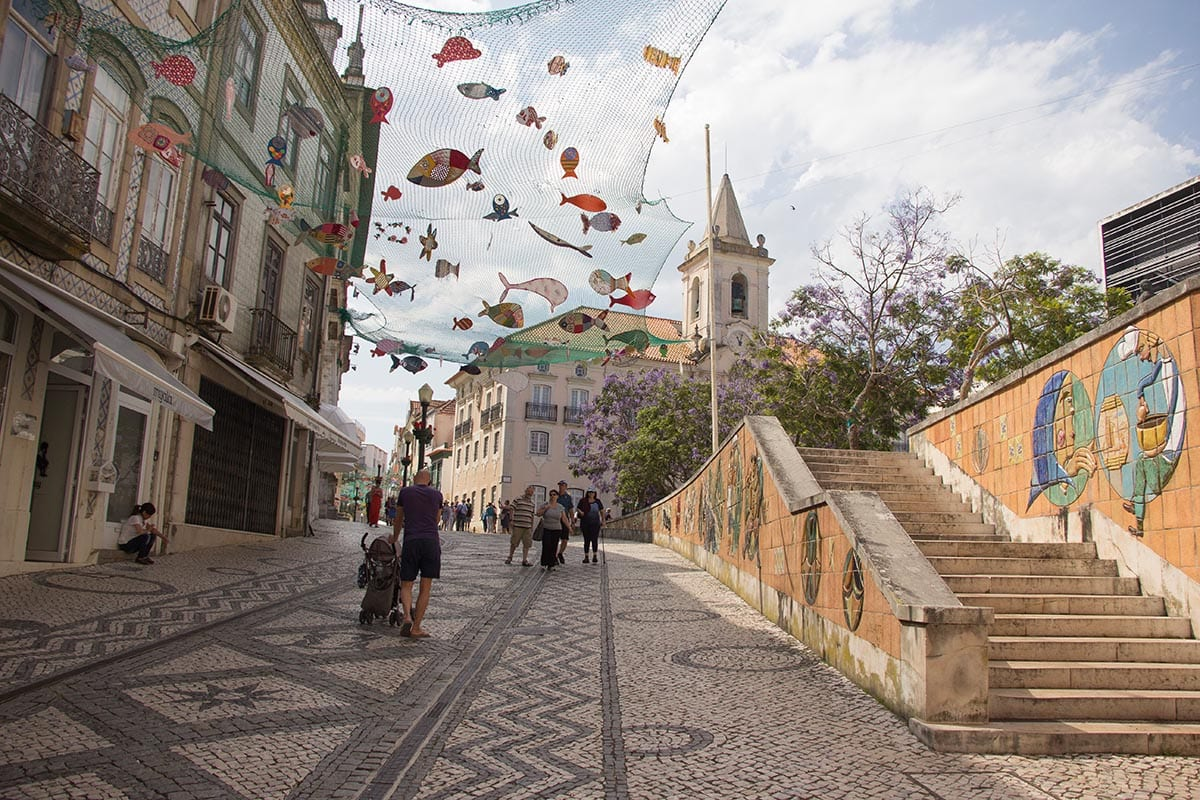 Portugal Aveiro die Altstadt