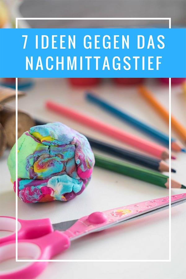 7 Ideen gegen das Nachmittagstief von Kindern – Pin für Pinterest