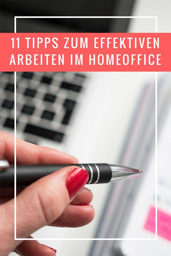 Tipps zum effektiven Arbeiten im Homeoffice