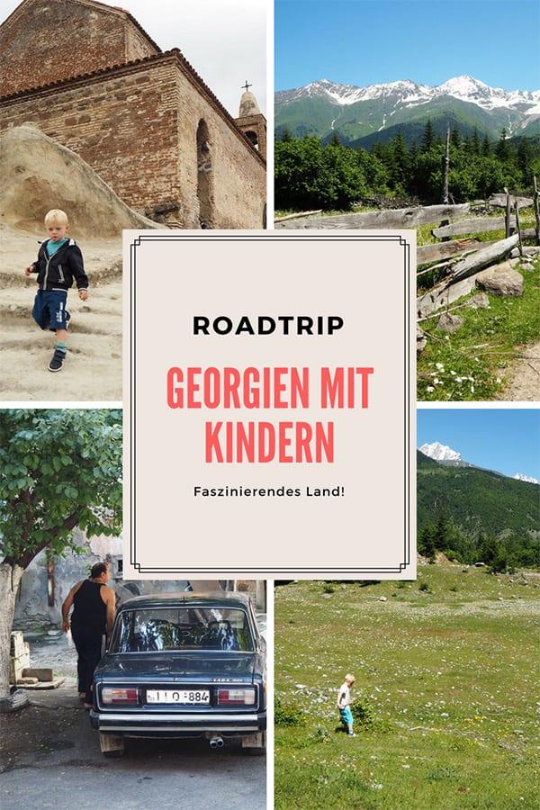 Georgien mit Kindern – eine abenteuerliche Rundreise durch ein faszinierendes Land