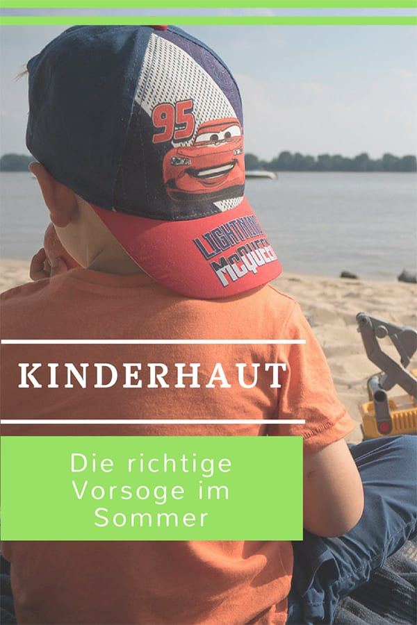 Kinderhaut im Sommer – Tipps für den notwendigen Schutz und die richtige Pflege