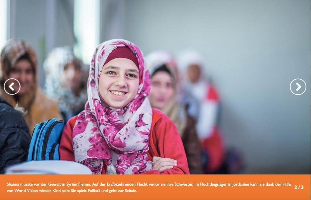 Spenden Kindheitsretter World Vision