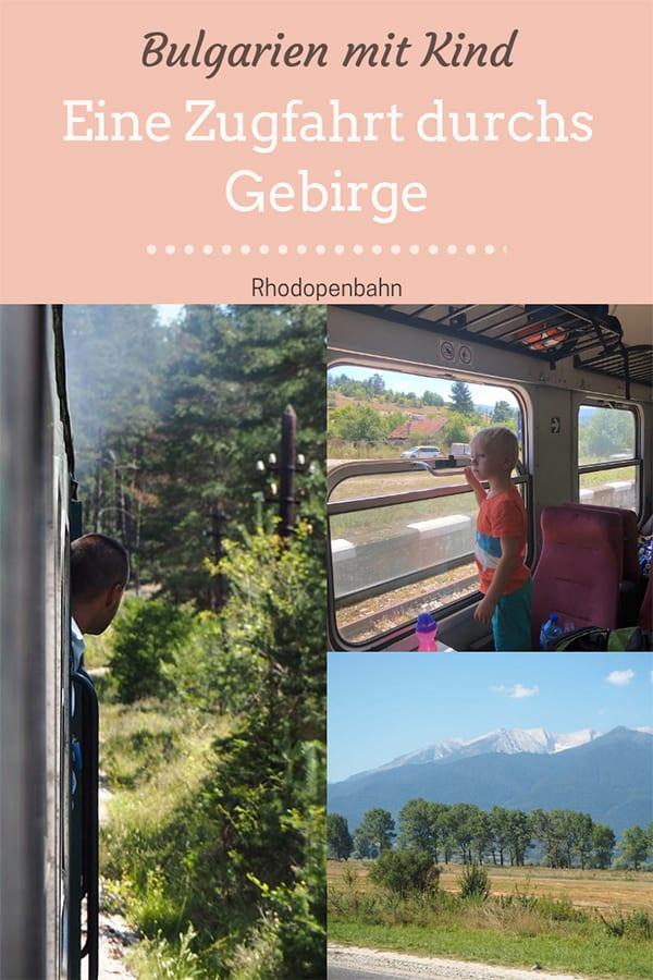Bulgarien mit Kind – eine Zugfahrt durchs Gebirge