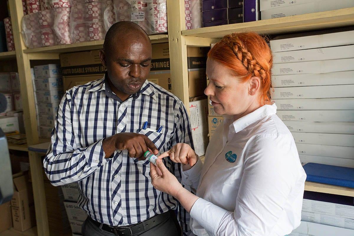 Gegen Tetanus bei Schwangeren und Babys – gemeinsam mit Pampers und UNICEF