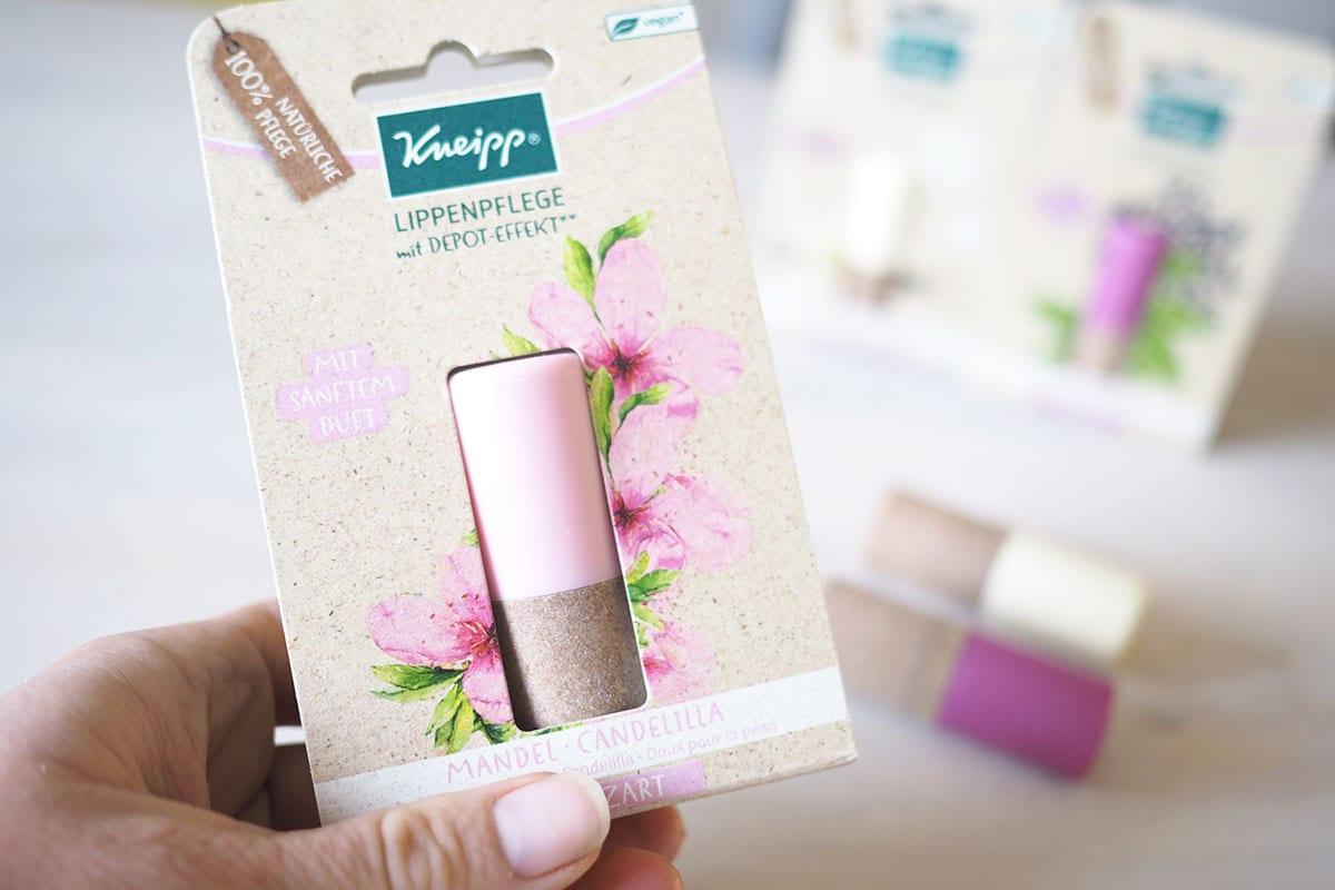 Natürliche Lippenpflege vegan von Kneipp