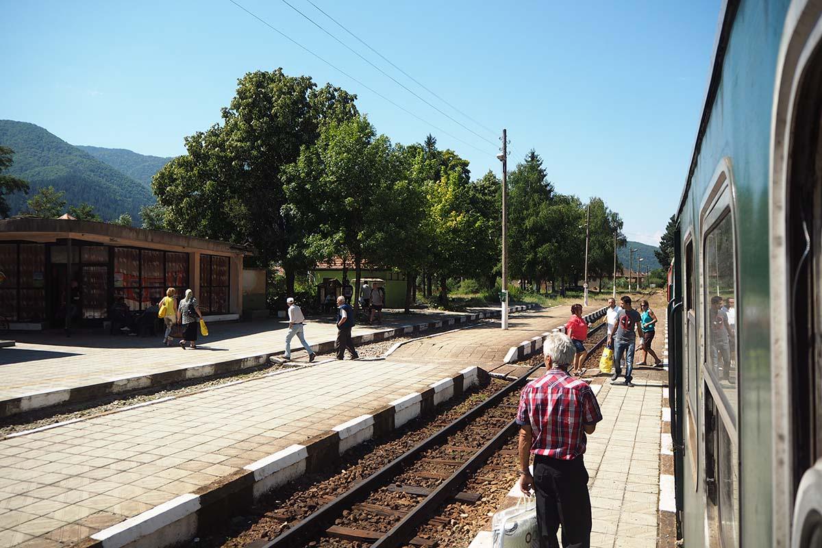 Rhodopenbahn Bulgarien – Reisebericht