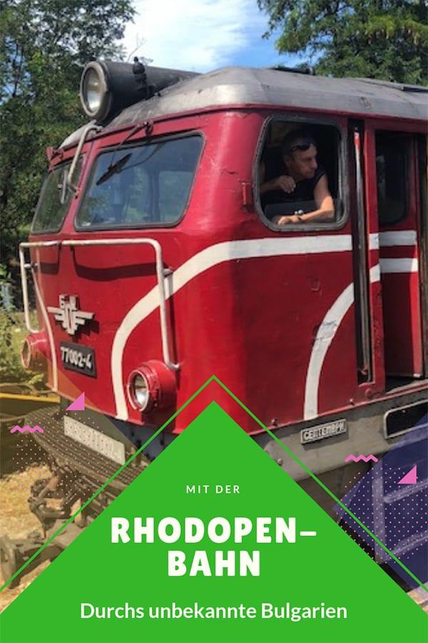 Mit der Rhodopenbahn durchs unbekannte Bulgarien