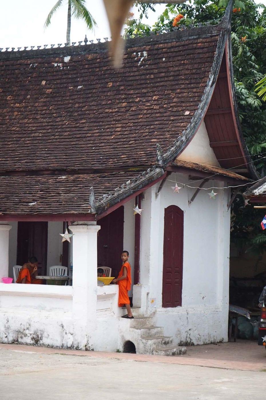 Individuelle Laos Reisen – ein Tempel in Luang Prabang
