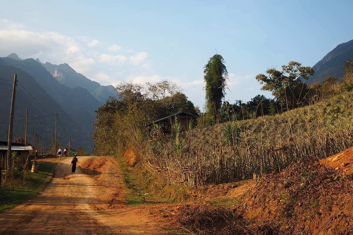 Individuelle Laos Reisen – Muang Ngoy