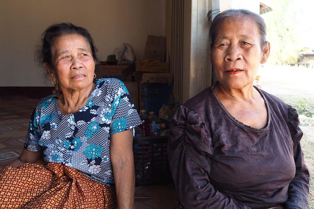 Individuelle Laos Reisen – im Dorf bei der Kong Lor Cave in Zentrallaos