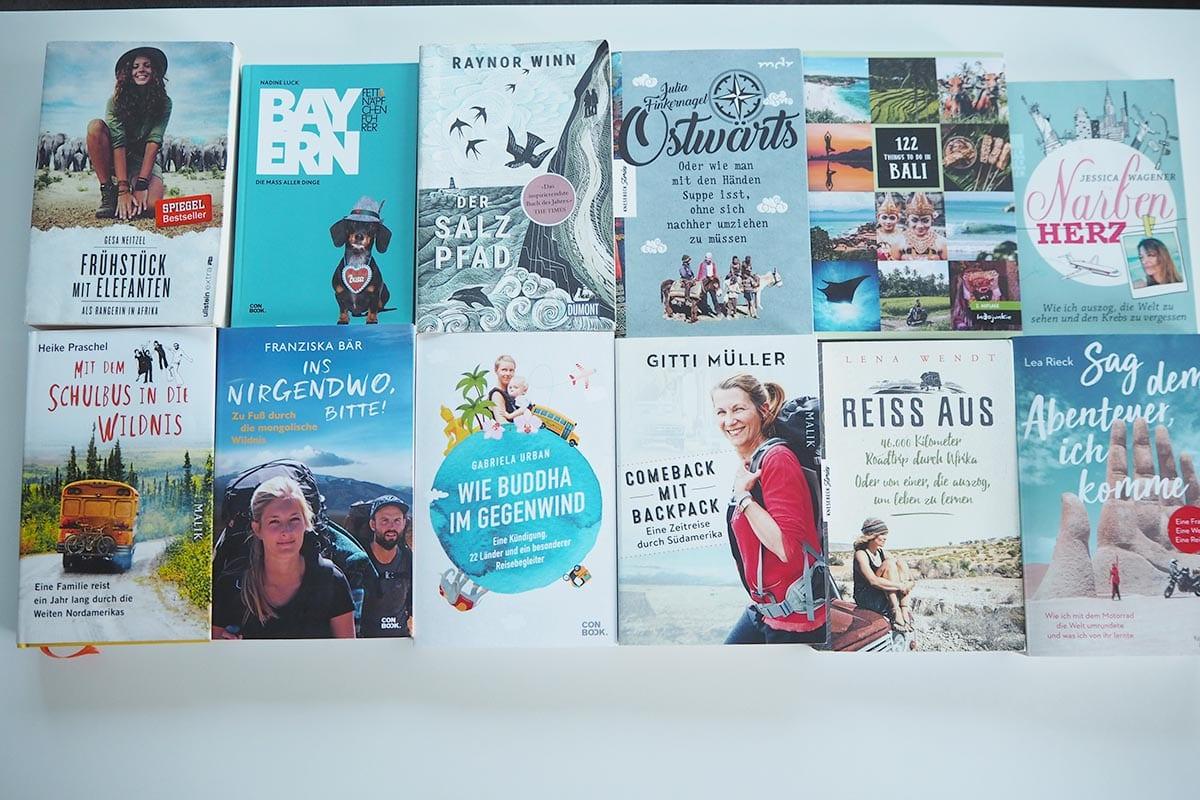 Die besten Reisebücher von Frauen – meine Empfehlungen