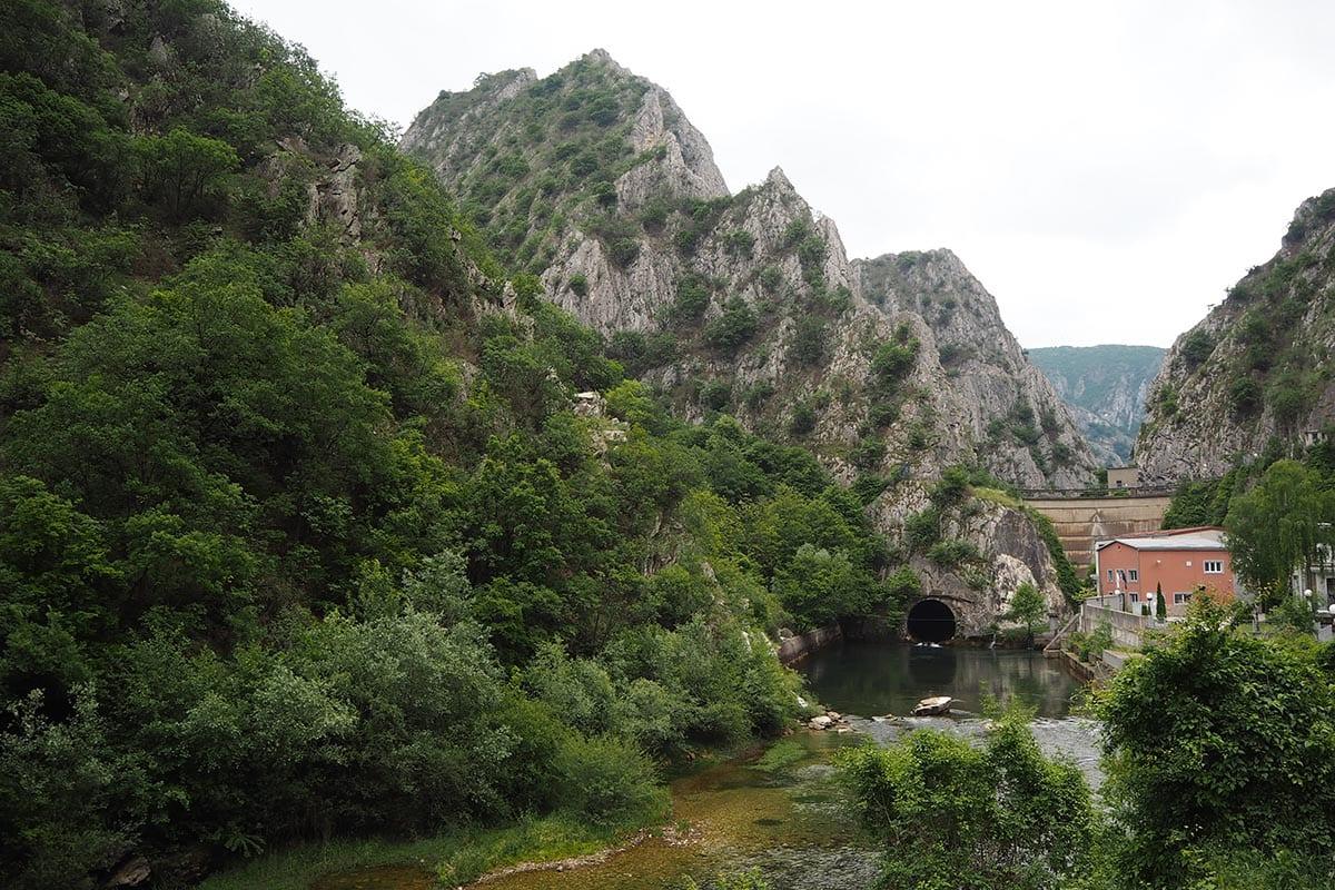 Mazedonien Urlaub Reisetipps – Matka Canyon ein beliebtes Ausflugsziel