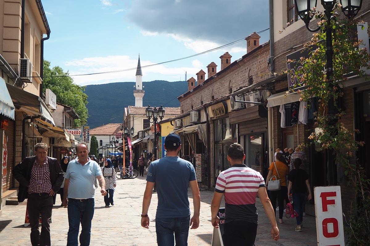 Mazedonien Urlaub Reisetipps – das Basarenviertel