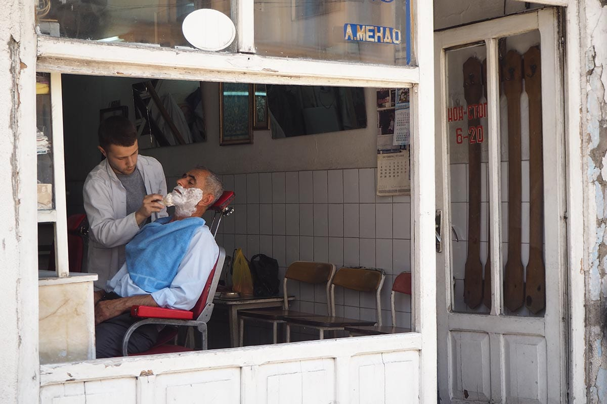 Mazedonien Urlaub Reisetipps – im Basarenviertel gibt es viele türkische Läden
