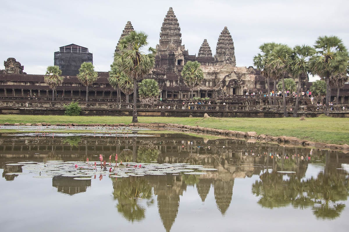 Die schönsten Kambodscha Sehenswürdigkeiten – Tempel Angkor Wat