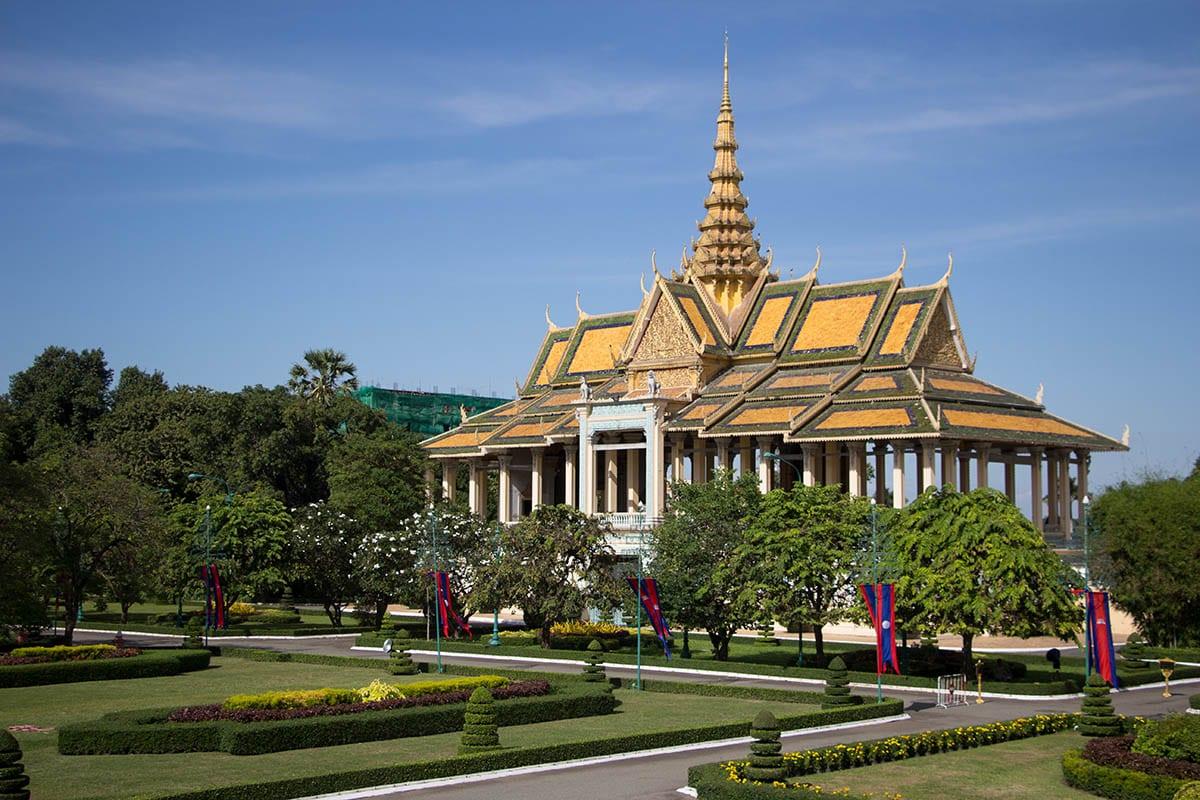 Die schönsten Kambodscha Sehenswürdigkeiten – Königspalast in Phnom Penh
