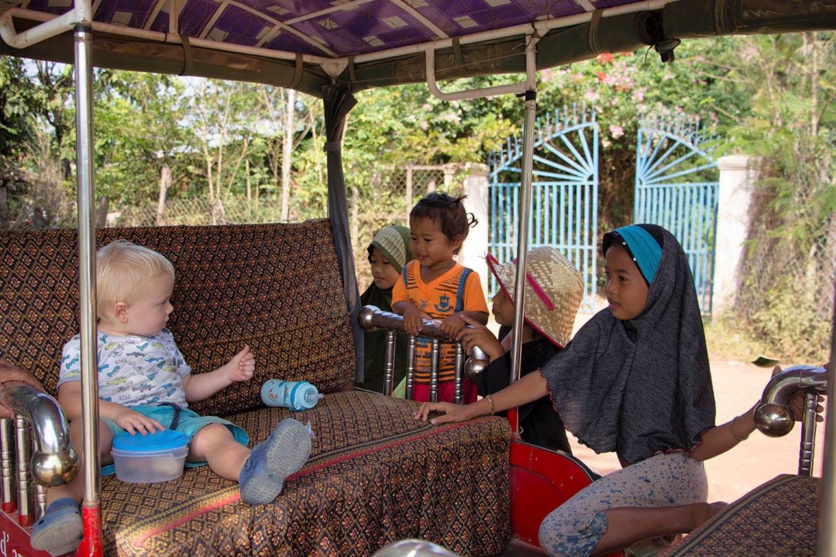 Die schönsten Kambodscha Sehenswürdigkeiten – im muslimischen Dorf bei Battambang