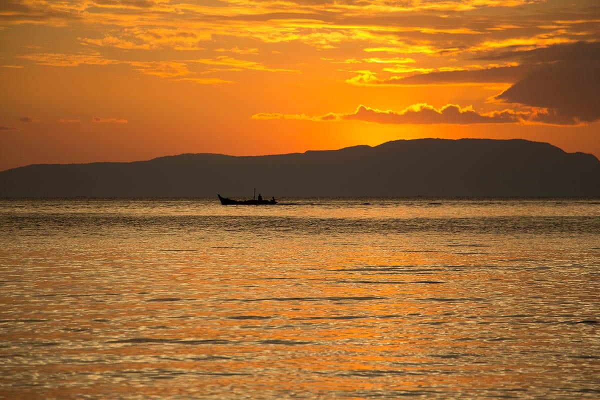 Die schönsten Kambodscha Sehenswürdigkeiten – am Strand von Kep