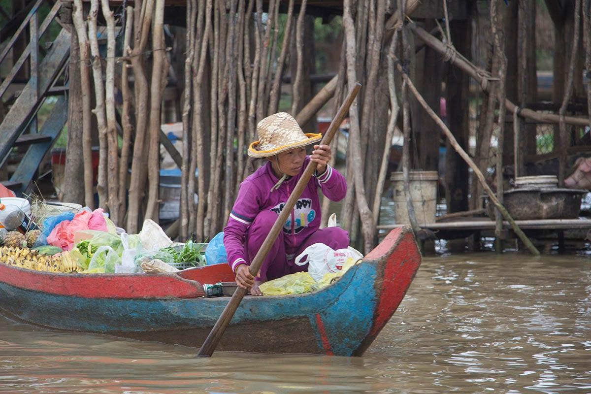Die schönsten Kambodscha Sehenswürdigkeiten – Bootsfahrt auf dem Tonle Sap