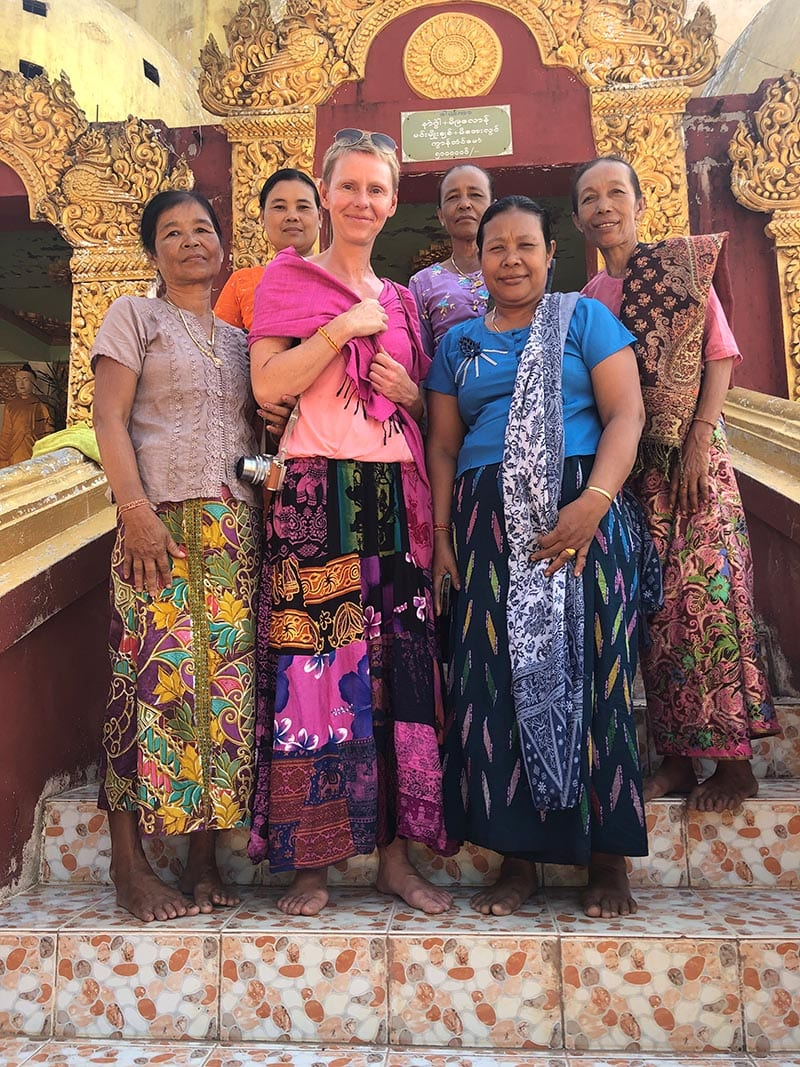 Unsere schönsten Myanmar Sehenswürdigkeiten: die Burmesen sind sehr freundlich